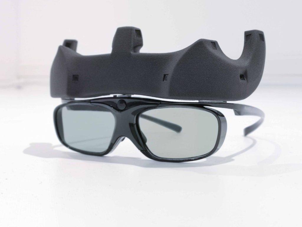 SmartCave VR-Brille von vorne