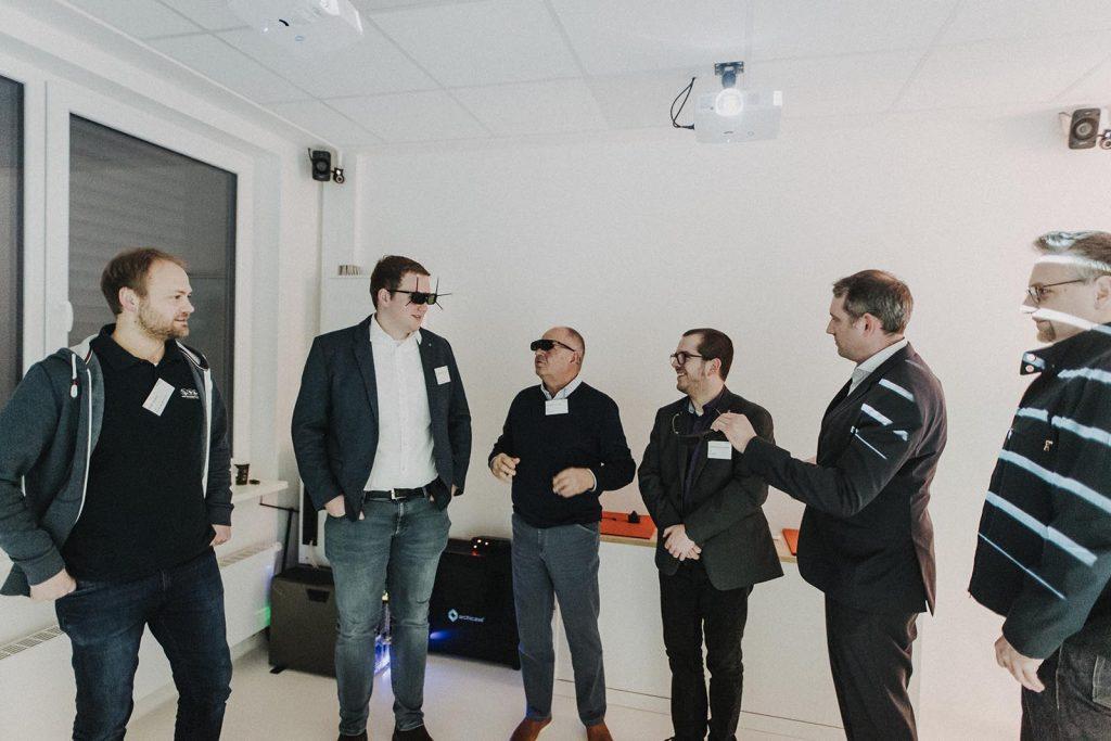 Archicave VR Präsentation EWE Businessclub